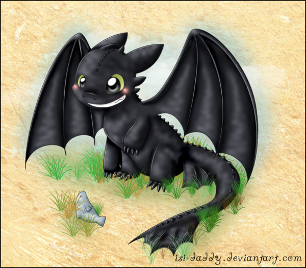 Chimuelo de como entrenar a tu dragon dibujo - Imagui