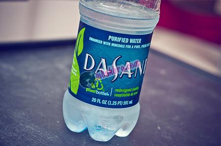 air kemasan Dasani