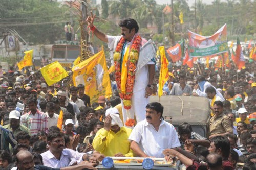 Nandamuri Balakrishna Rally at Hindupur Photo Gallery