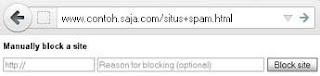 Cara Memblockir Situs Spam di Google