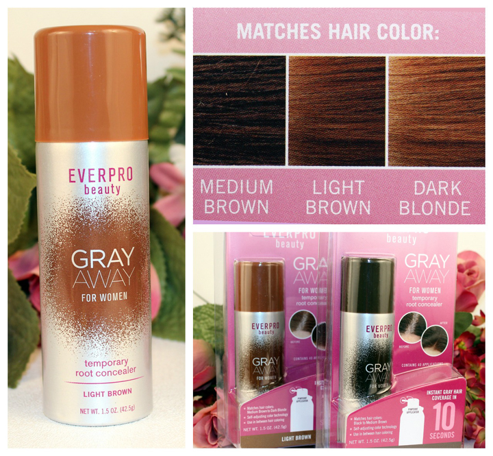 Gray Away Temporary Hair Color by EverPro Beauty