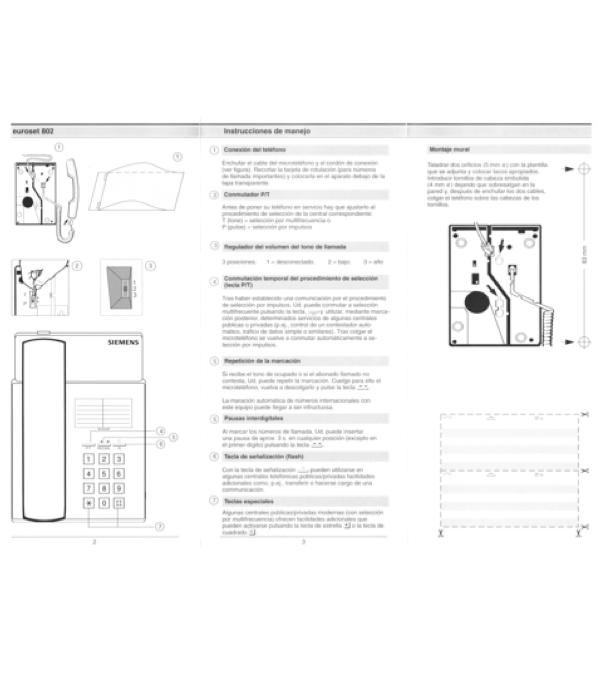 Siemens Euroset 811 инструкция - фото 8