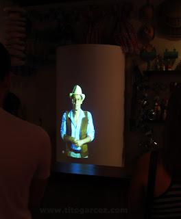 Josevende no Museu da Gente Sergipana, em Aracaju - Sergipe