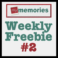 My Memories Weekly Freebie 2
