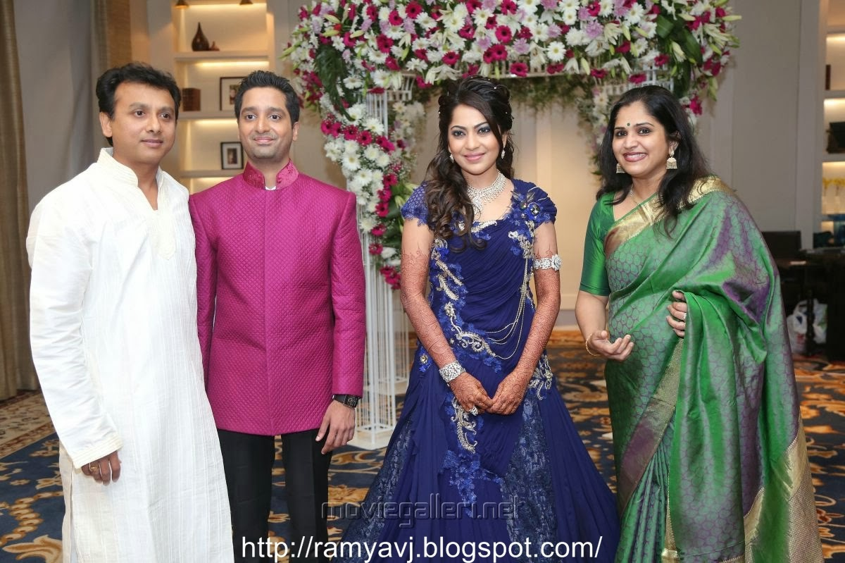 Stars At Vj Ramya Wedding Reception Collection 2