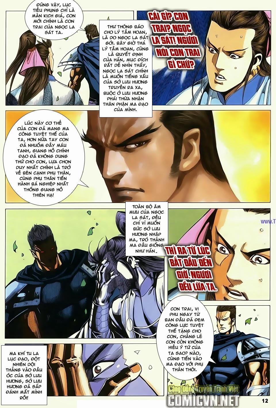 Cổ Long Quần Hiệp Truyện chap 84 Trang 12 - Mangak.info