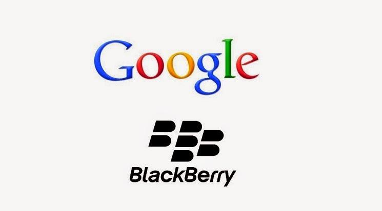 Blackberry-Google