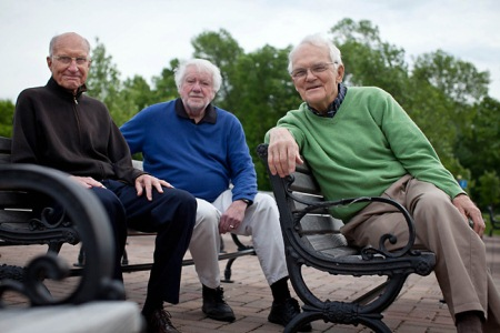 Gay marriage, I mean.) Photo: Retired Catholic priests ...