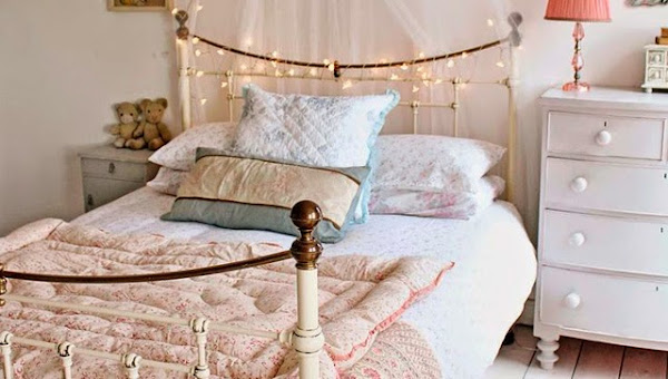 Shabby chic aprender manualidades es for Dormitorios vintage chic