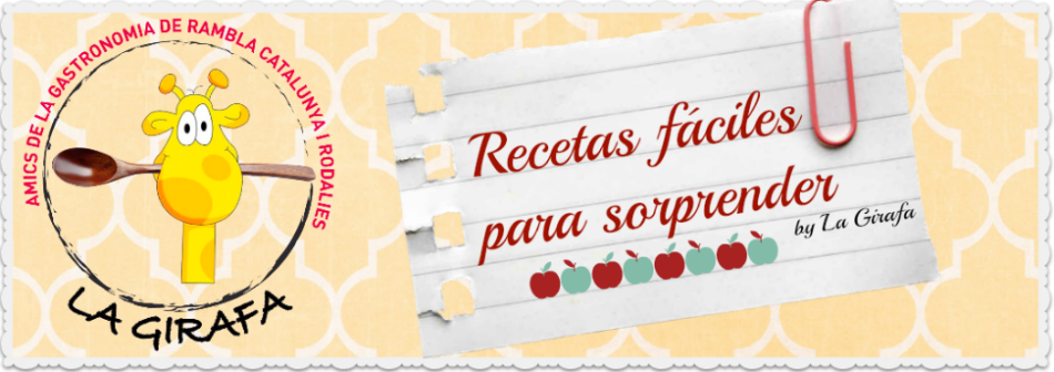 RECETAS FACILES PARA SORPRENDER