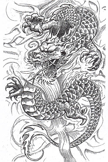 Medieval Dragon is also one of the most popular dragon tattoo designs ...
