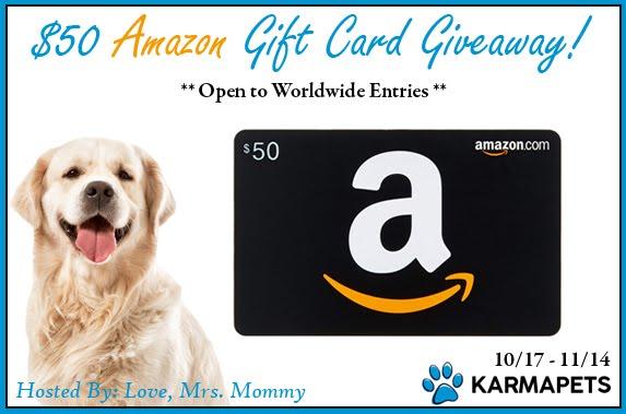 Karmapets $50 Amazon Giftcard