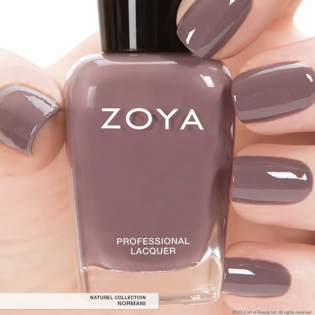 Zoya Nail Polish 2014 Naturel Collection