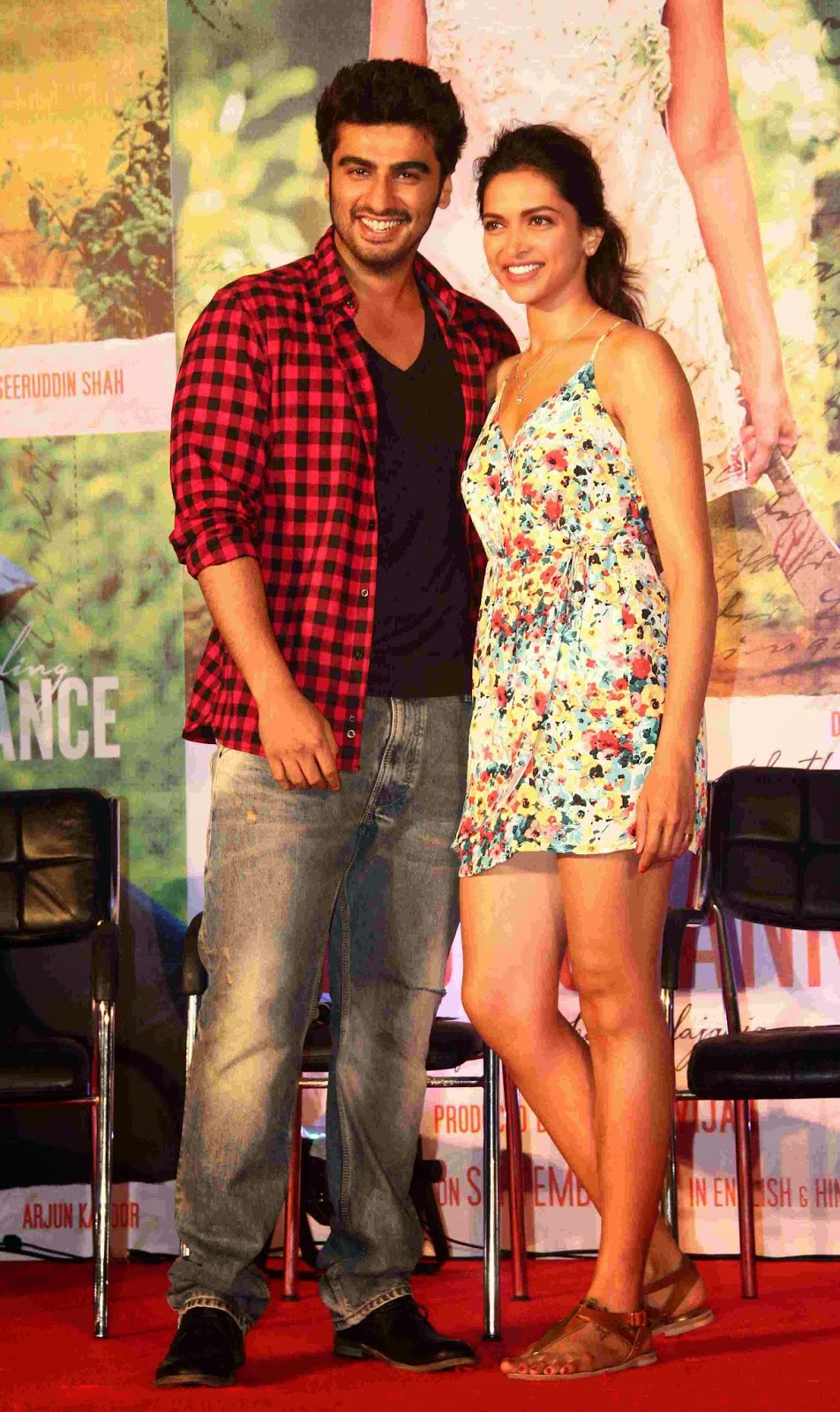 Arjun Kapoor & Deepika launch Fanny Re song from 'Finding Fanny' movie