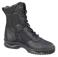 Tactical Boots Zipper5