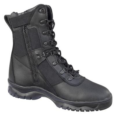 Tactical Boots Zipper5