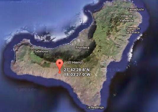 terremoto, El Pinar, El Hierro, octubre 2014, Canarias