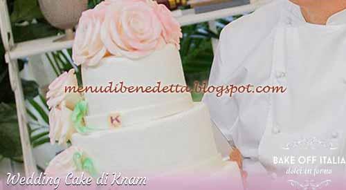 Wedding Cake ricetta Knam da Bake Off Italia 3