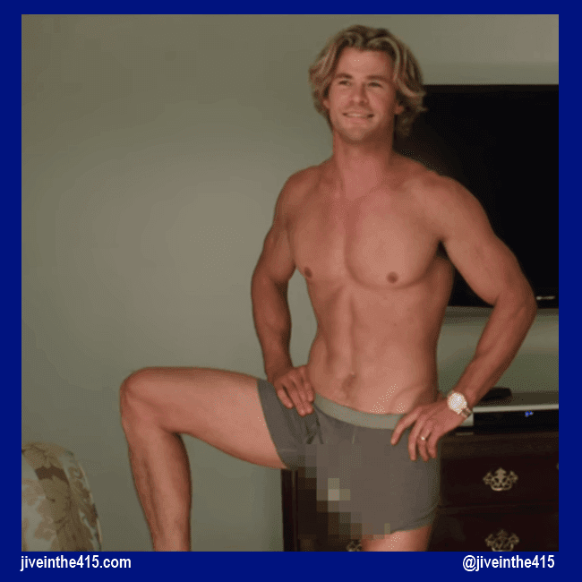 "Chris Hemsworth in a still photograph from the movie ""Vacation."""