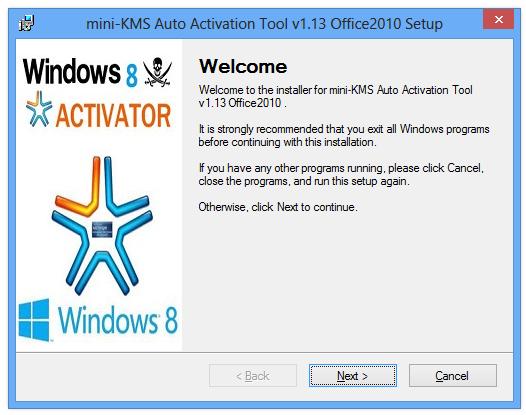 kms activator office 2010 virus