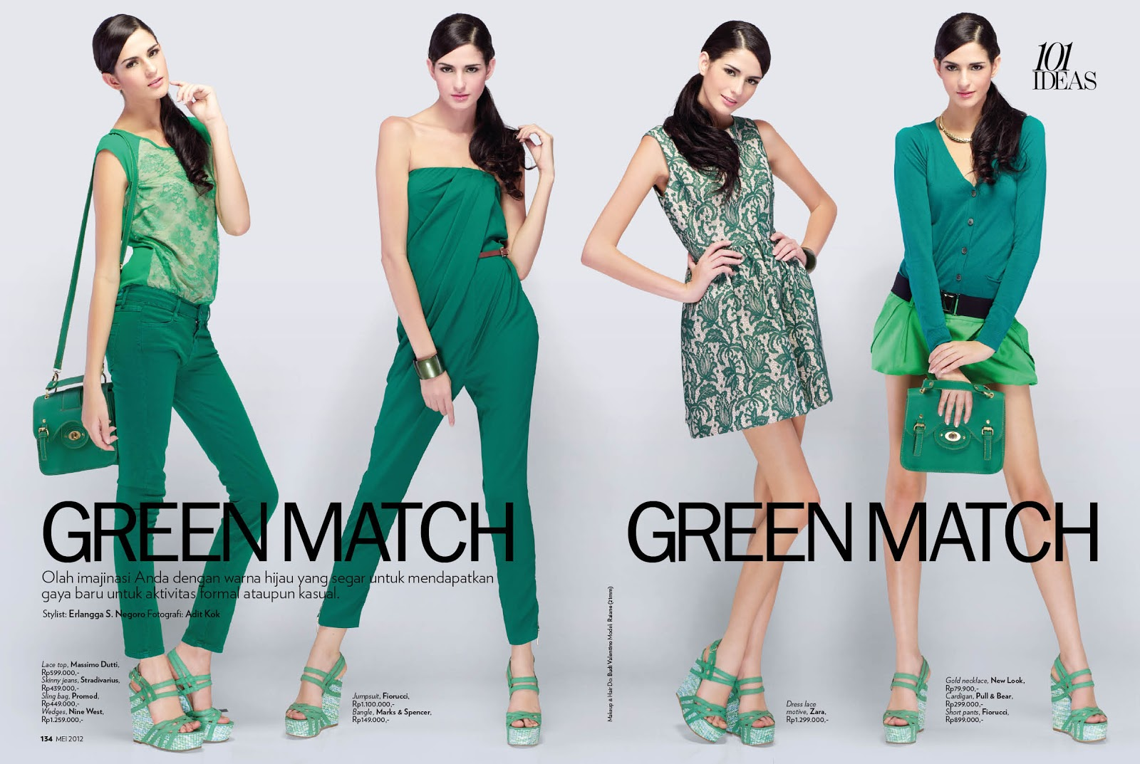 Style Versa: Marie Claire Indonesia, May 2012 : 101 Ideas