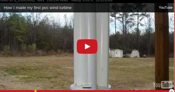 kraftwerkstatt einfache vertikale windturbine zum selber. Black Bedroom Furniture Sets. Home Design Ideas