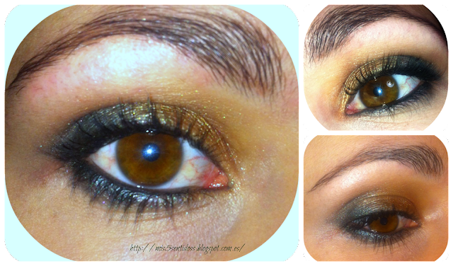 Look Ojos color miel