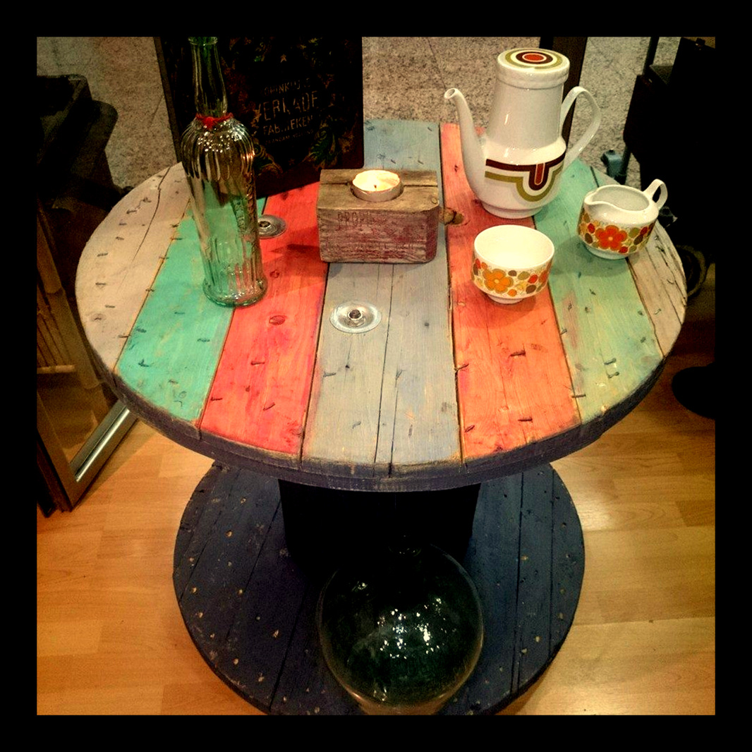 Muebles y objetos vintage reciclado de mobiliario vintage for Vintage muebles y objetos