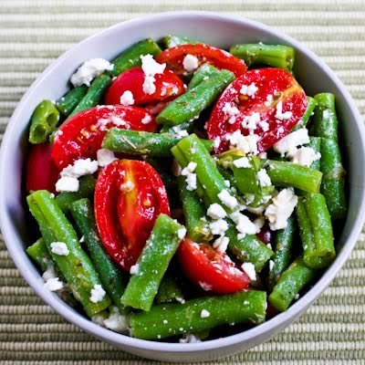 And Tomato Salad With Marinated Garbanzo Beans, Feta, And Herbs ...