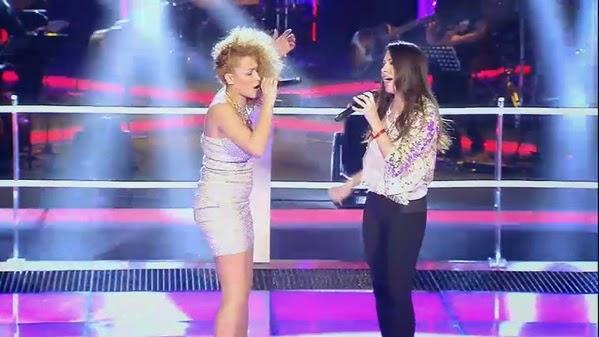 Mimi y Alyre cantan batallas la voz