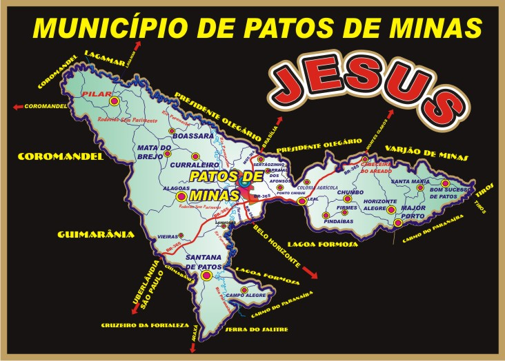 Planta Município - Patos de Minas