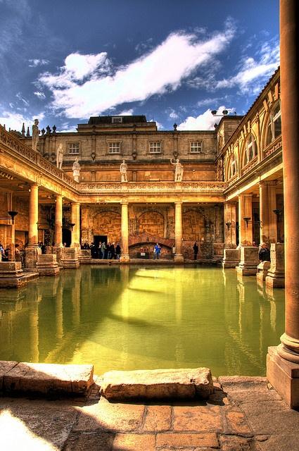 Roman Baths Bath England A1 Pictures