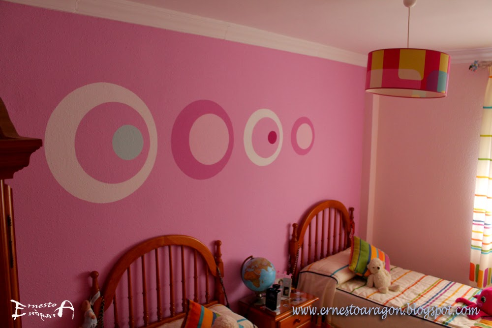 Ernesto arag n pintura para el hogar habitaci n - Habitacion rosa palo ...