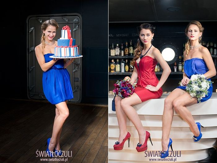 Niebieskie buty dla Panny Młodej