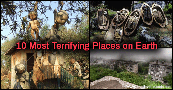 10 Of The Most Creepy Spots On Earth