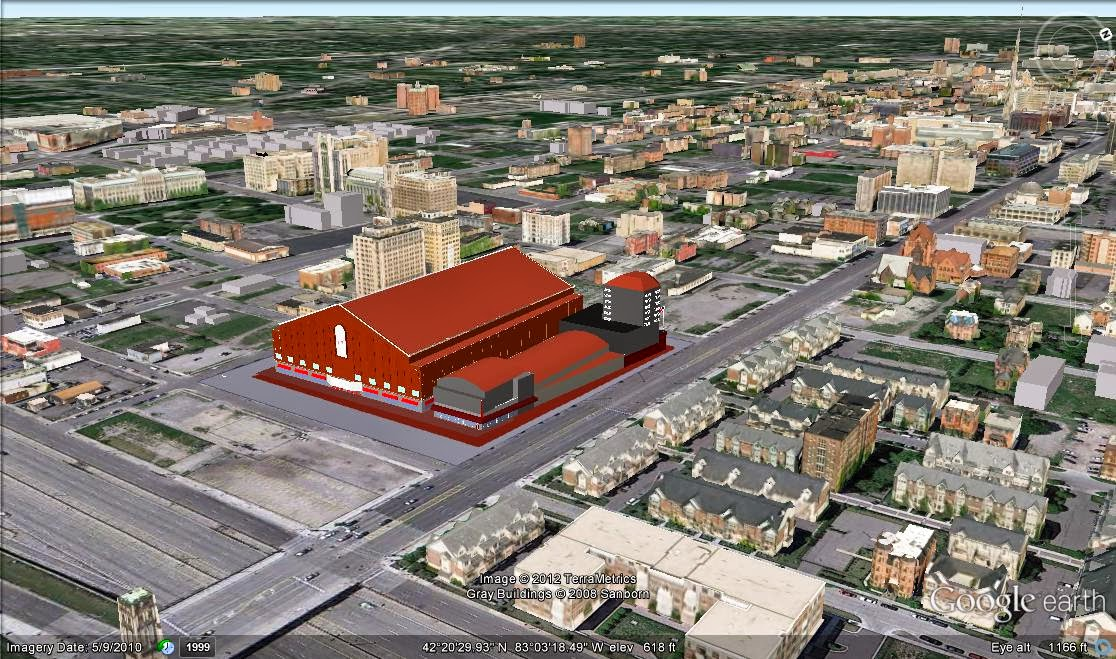 New Detroit Red Wings Arena 7