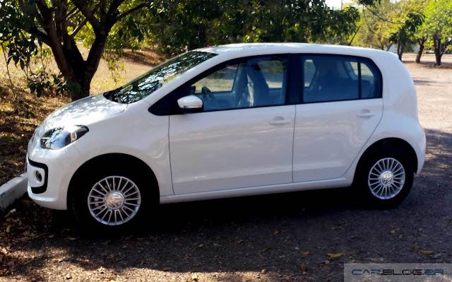 Volkswagen Up! TSI: consumo em cidade