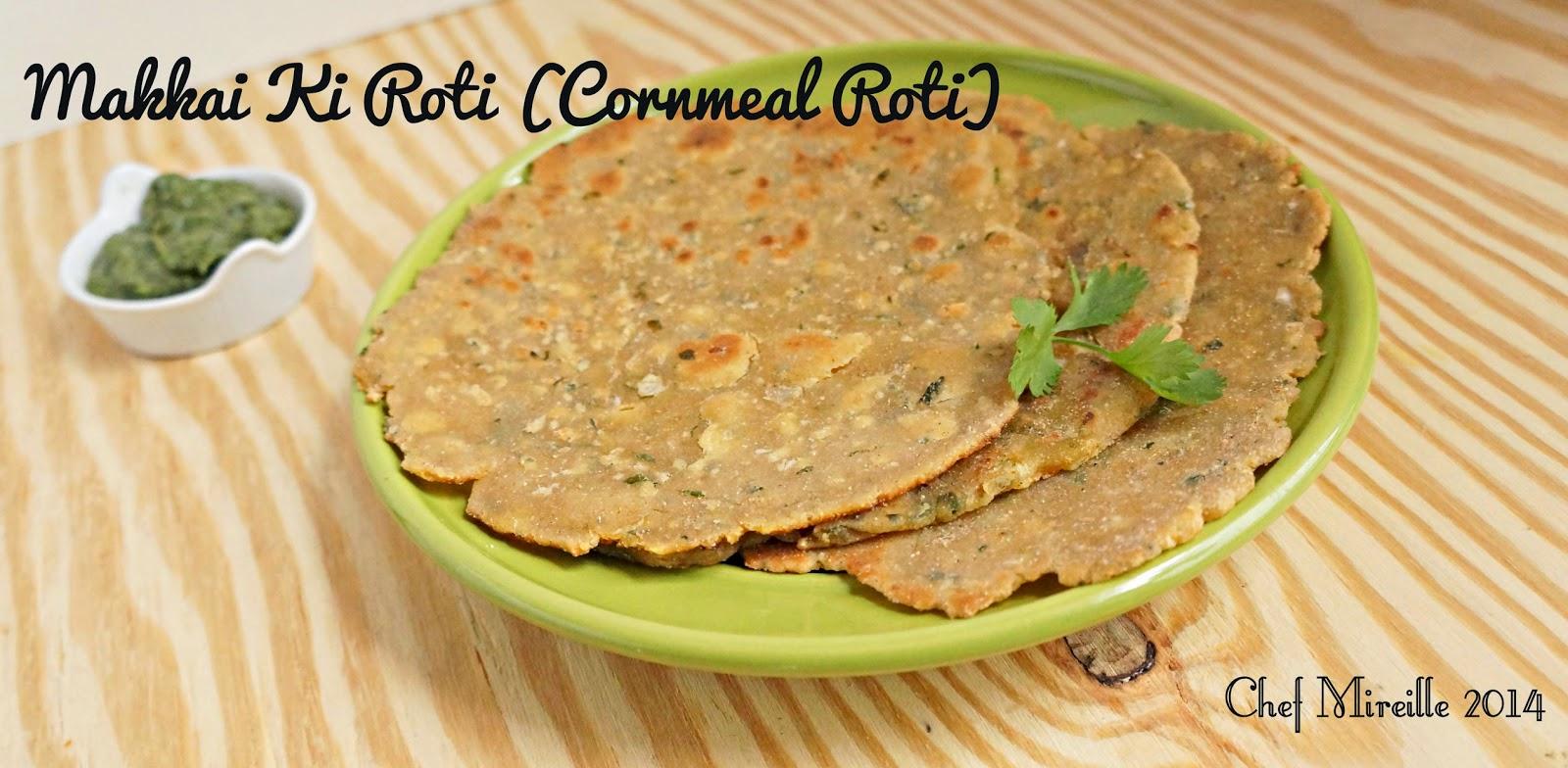 Indian Cornbread Roti