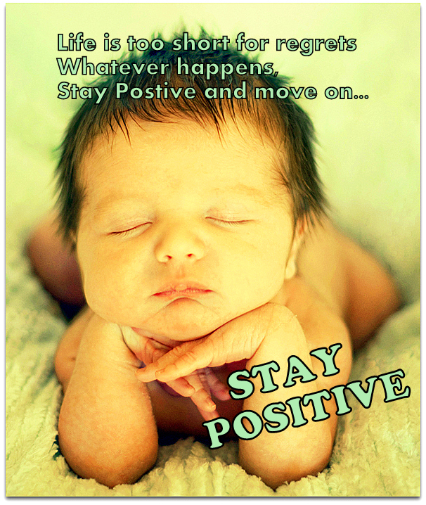 Positive thinking for a healthy baby application