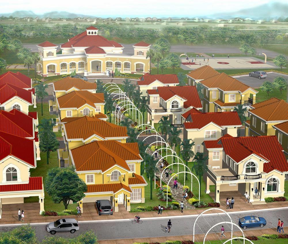 Le Jardin de Villa Abrille - Ma-a, Davao City Aerial View