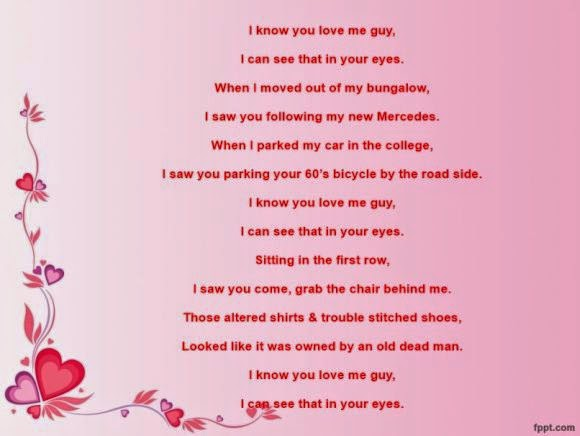 Rude gay poems for valentines day