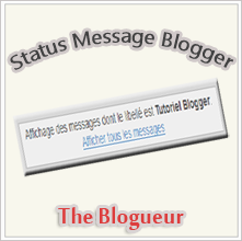 Status Message Blogger