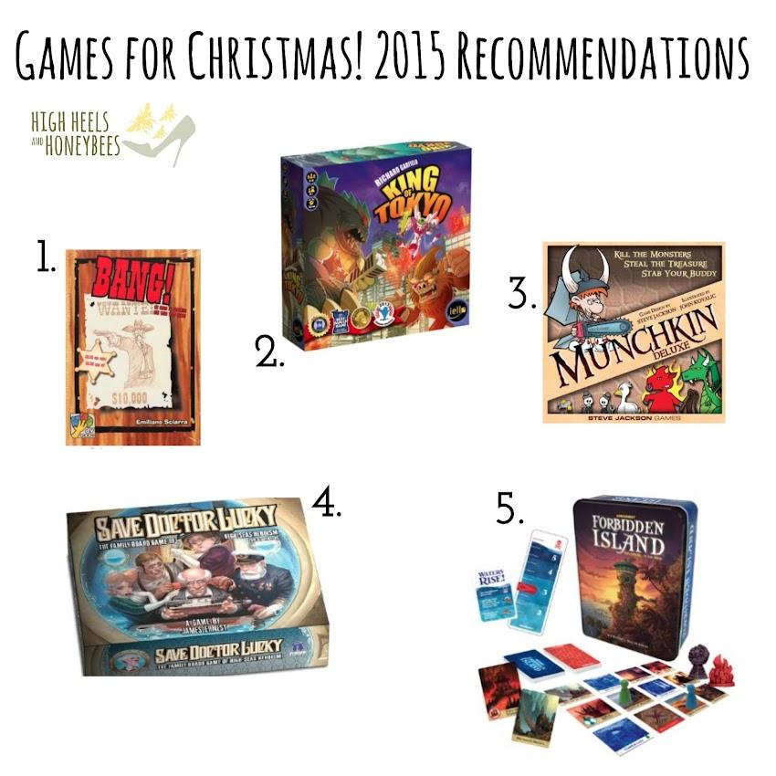 Christmas Shopping List 2015: Games!