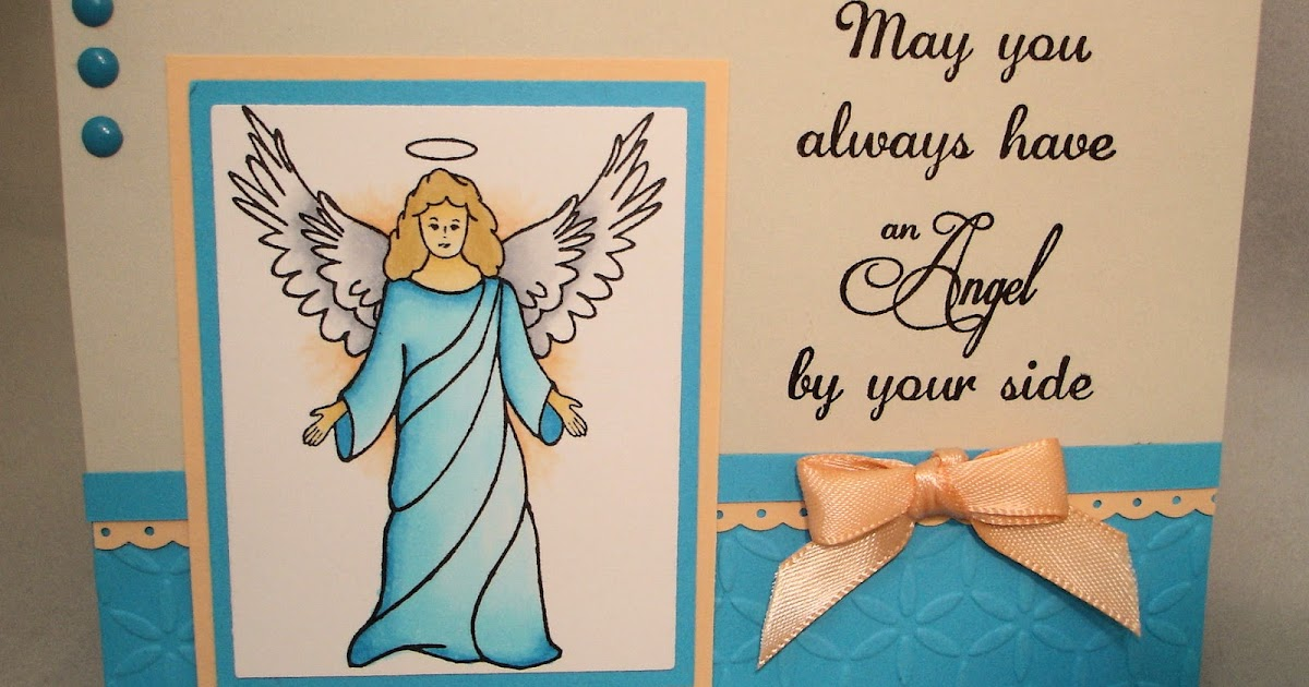 Drs designs rubber stamps angel by your side for Fvb interieur designs bv