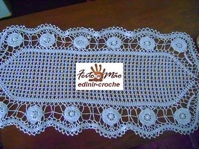 caminhos de mesa em Edinir-Croche blog