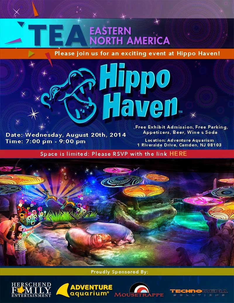 New Jersey, Aug 20: Experience Hippo Haven at Adventure Aquarium