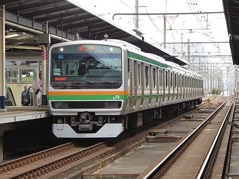京葉線 武蔵野線 川越線直通 臨時快速おさんぽ川越号 E231系