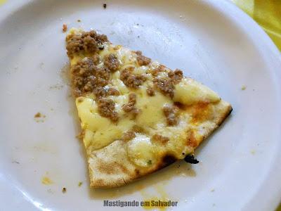 Prazeres da Pizza: Fatia de Pizza sabor Atum