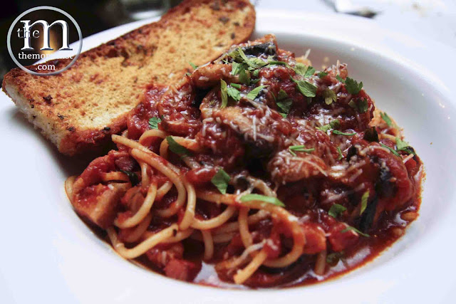 Spaghetti Amatriciana 