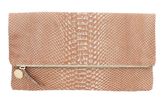 Clare Vivier foldover clutch handbag